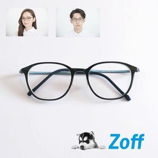 ゾフ(Zoff)のZoff ゾフ スマート スキニー ボストン  ZJ61042 メガネ 黒縁(サングラス/メガネ)