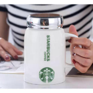 スターバックスコーヒー(Starbucks Coffee)の【新品】Starbucks コーヒーふた付きマグ 2019 海外限定モデル(グラス/カップ)