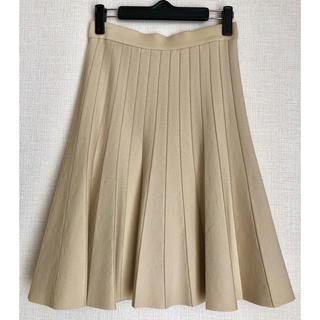 エポカ(EPOCA)の美品!EPOCA プリーツ風フレアスカート(ひざ丈スカート)