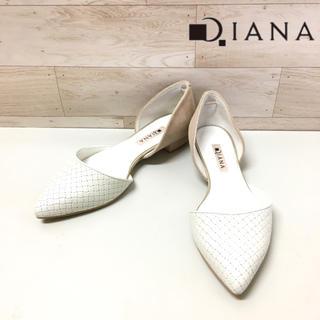 DIANA - 【DIANA】パンプス (23) ローヒール スエード メッシュ 春夏