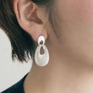フリークスストア(FREAK'S STORE)の#284 import pierce : metal drop silver(ピアス)