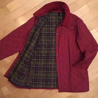 バーブァー(Barbour)のBarbour バブアー キルトジャケットコート XL(ステンカラーコート)