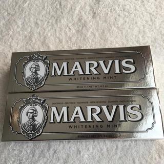 マービス(MARVIS)のマービス 歯磨き粉 ホワイトニングミント 2本セット(歯磨き粉)
