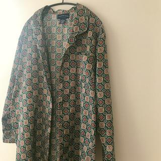 サンタモニカ(Santa Monica)のロングシャツ vintage ガウン(シャツ/ブラウス(長袖/七分))