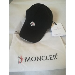MONCLER - ✨2020春夏/新品·未使用✨ MONCLER  レディース キャップ 黒