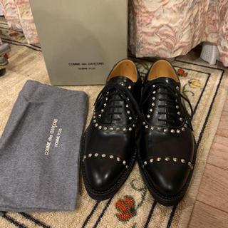 COMME des GARCONS HOMME PLUS - 新品ギャルソン名作 スタッズシューズ オムプリュス ドレスシューズ 革靴