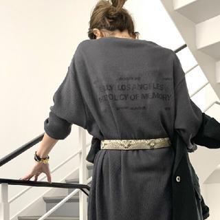 アパルトモンドゥーズィエムクラス(L'Appartement DEUXIEME CLASSE)のサーマル ドレス (ロングワンピース/マキシワンピース)