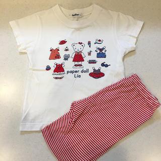 familiar - ファミリア♡セットアップ 110 Tシャツ パンツ