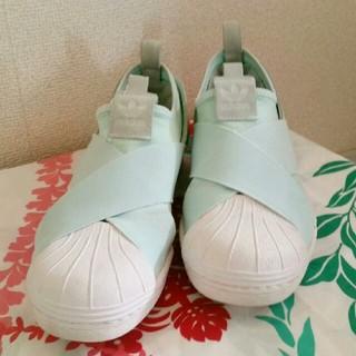 アディダス(adidas)の★限定カラー レア 25 パステルグリーン adidas originals(スニーカー)