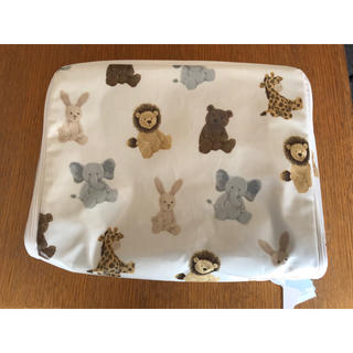 ジェラートピケ(gelato pique)の『新品未使用・タグ付き』アニマル柄 オムツBOXケース(ベビーおむつバッグ)