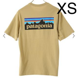 patagonia - パタゴニア P-6 ロゴ オーガニック Tシャツ XS クラシック タン CSC