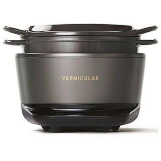 バーミキュラ(Vermicular)の新品 バーミキュラ ライスポット 炊飯器 トリュフグレー [5合 /IH] (炊飯器)