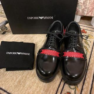 Emporio Armani - 2018SS 新品 EMPORIO ARMANI アルマーニ ドレスシューズ