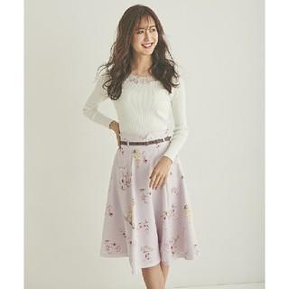 LAISSE PASSE - レッセパッセフラワースカート