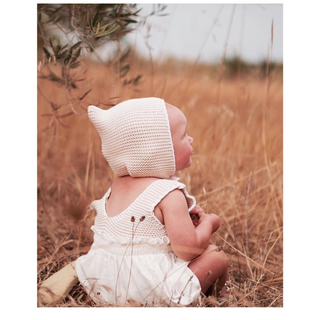 Caramel baby&child  - liilu  ボンネット 6-18M