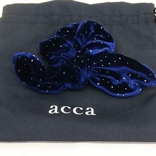 acca - acca アッカのリボンシュシュ 未使用品です