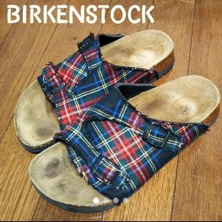 BIRKENSTOCK - BIRKENSTOCK レア チェック柄 チューリッヒ