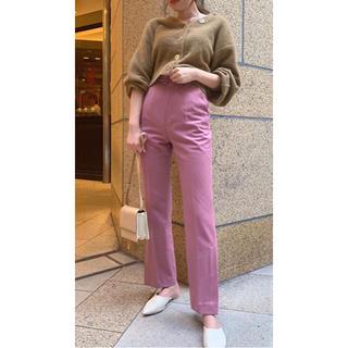 snidel - 新品 タグ付き スナイデル カラー ストレート パンツ ピンク