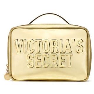 Victoria's Secret - VS:バニティ ゴールド(メッシュポーチ2個付)