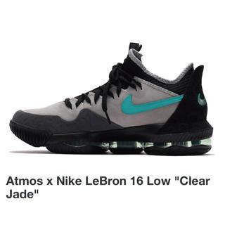 """ナイキ(NIKE)のAtmos x Nike LeBron 16 Low """"Clear Jade""""(スニーカー)"""