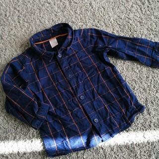 H&M - H&M オシャレシャツ チェックシャツ おしゃれシャツ 80センチ