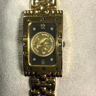 ラッセン 金貨付き時計