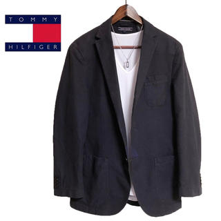 TOMMY HILFIGER - TOMMY HILFIGER テーラードジャケット 紺色 カジュアルジャケット