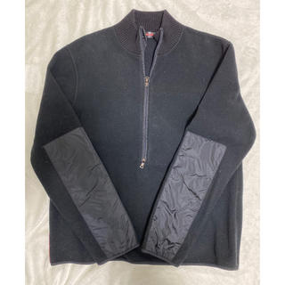 プラダ(PRADA)のPRADA正規品フリースジャケットブラックL【メンズ】(ブルゾン)