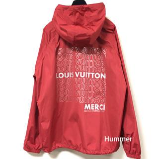ルイヴィトン(LOUIS VUITTON)の国内正規品 ルイヴィトン LVリスト ハーフジップ ブルゾン 極美品!!(ナイロンジャケット)