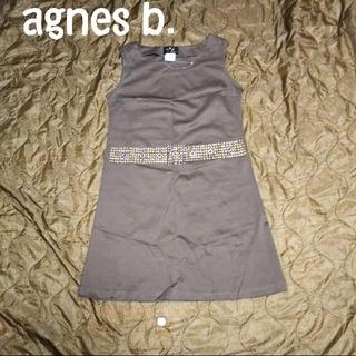 アニエスベー(agnes b.)の未使用 TO b by agnes b. スタッズ ワンピース(ひざ丈ワンピース)
