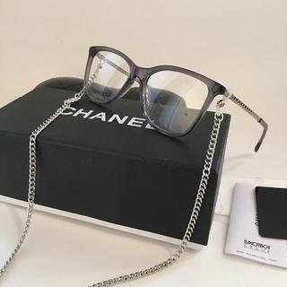 CHANEL - 送料無料❗️シャネル❗️CH3395B メガネフレーム クリアグレー 眼鏡