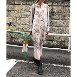 Ameri VINTAGE - Ameri 美品 REHEMA KEY NECK DRESS