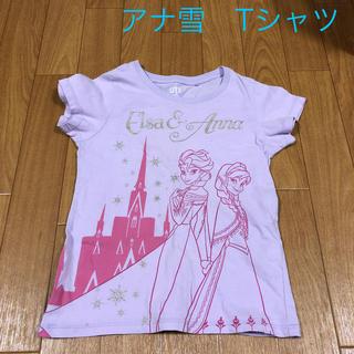 UNIQLO - アナ雪 Tシャツ 120センチ ユニクロ