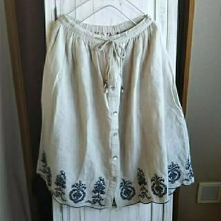 RayCassin - Ray  Cassin*綿麻刺繍スカート