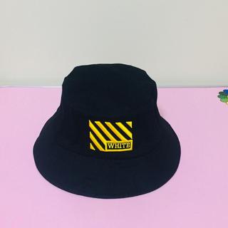 オフホワイト(OFF-WHITE)のOFF WHITE 帽子 ハット帽子 日本未発売 (ハット)