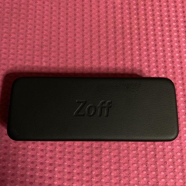 Zoff(ゾフ)のzoffメガネケース メンズのファッション小物(サングラス/メガネ)の商品写真