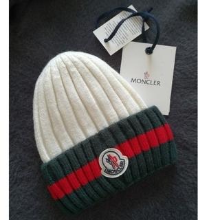 MONCLER - moncler  ニット帽 新品 ノベルティー 海外インポート品