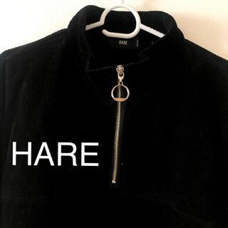 HARE - HARE ベロアトレーナーM