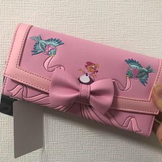 ディズニー(Disney)のお値下げ♥️loungefly シンデレラ 財布 ウォレット ラウンジフライ(長財布)