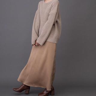 BEAUTY&YOUTH UNITED ARROWS - munish ピーチサテンマーメイドマキシスカート