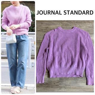 JOURNAL STANDARD - 【JOURNAL STANDARD】カラーミッツモククルーネックニット