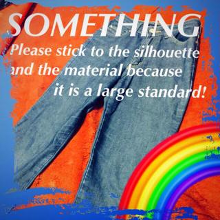 サムシング(SOMETHING)の❇️【SOMETHING】いつもキレイでいたいから☆‼️(デニム/ジーンズ)