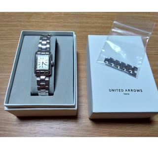 UNITED ARROWS - UNITED ARROWS UAB スクエア メタル 腕時計☆