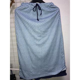 フェリシモ(FELISSIMO)のフェリシモチェック柄スカート(ロングスカート)