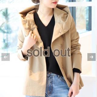 JOURNAL STANDARD - 美品☆ジャーナルスタンダード 定番グログラン フードショートコート☆ジャケット