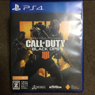 PlayStation4 - 美品 PS4 CALL OF DUTY BLACK OPS 4
