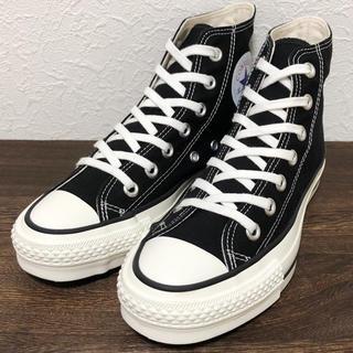CONVERSE - ほぼ新品❗️ 日本製 コンバース オールスター 23cm 黒 ブラック