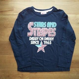 ダディオーダディー(daddy oh daddy)のDaddy Oh Daddy 長袖Tシャツ ネイビー130(Tシャツ/カットソー)