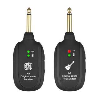 新品 ギターワイヤレスシステム トランスミッタレシーバ内蔵充電式(エレキギター)