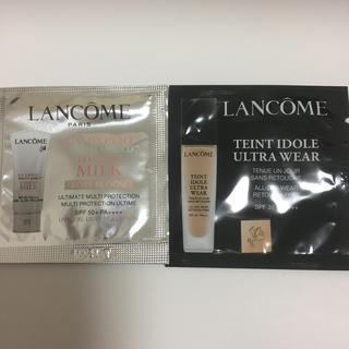 ランコム(LANCOME)のランコム 化粧下地 リキッドファンデーション(サンプル/トライアルキット)